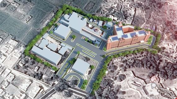 Up-Gradation of District Hospital Kushinagar