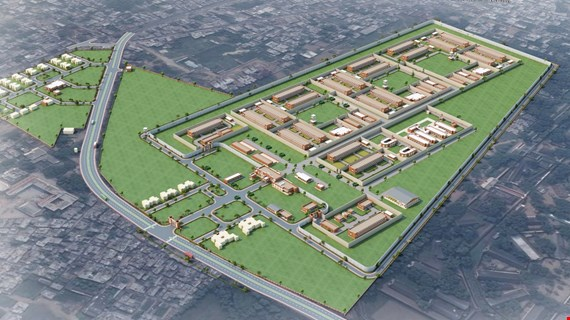 Prison Complex for 2600 Inmates at Naini Prayagraj