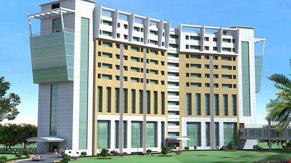 Multi Facility Block in Dr. Ram Manohar Lohia Hospital, Lucknow