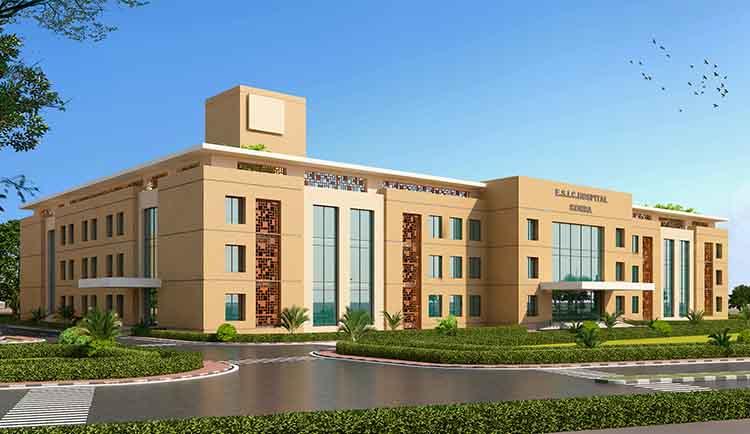 ESIC Hospital at Korba